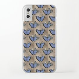 Butterflies Clear iPhone Case