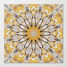 Tree mandala iii Canvas Print