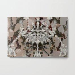 Articulated Fragment of Established Elegance Metal Print