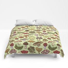 Mushroom Circle Comforters