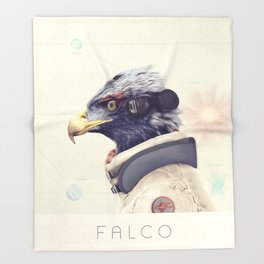 Star Team - Falco Throw Blanket