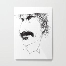 ZFace - M Metal Print