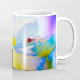 Dogwood 14 #easter #colorful #textured Coffee Mug