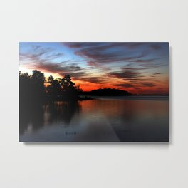 Early morning at DeGray lake Metal Print