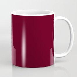 Dark Burgundy - Pure And Simple Coffee Mug