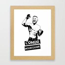 UFC Conor Mcgregor Framed Art Print