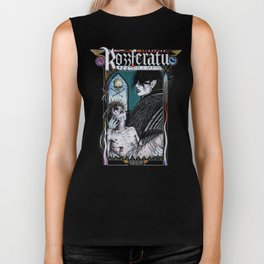 Rozzferatu - Fanart for Rozz Williams Biker Tank