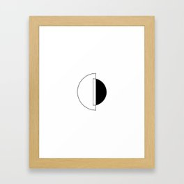 Everydaygeometric - Day Thirteen -  Framed Art Print