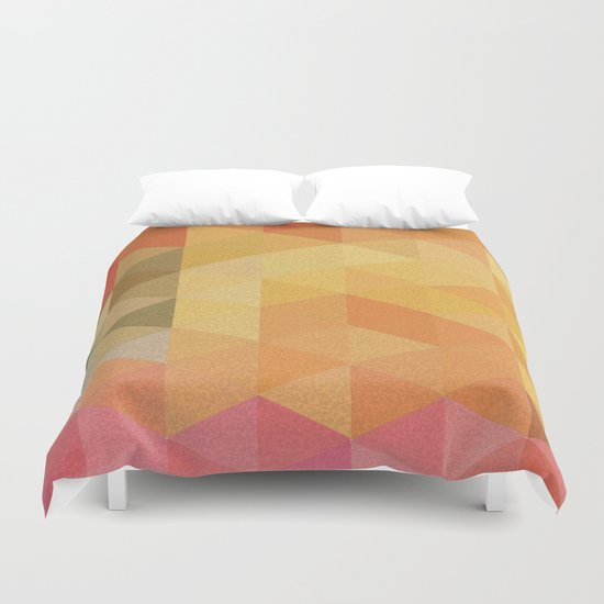 One More Yellow Crush Duvet Cover