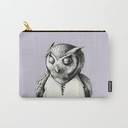 Miss Owl in Jumpsuit Carry-All Pouch