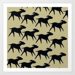 Dogs Design Art Print