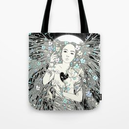 Tangled Up in Life (A Portrait of Nature) Tote Bag