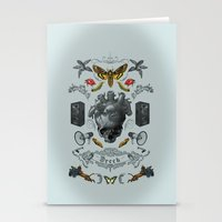 rorschach Stationery Cards featuring Rorschach by Dreck Design