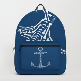 Anchor with Bones Backpack