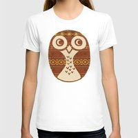 navajo T-shirts featuring Navajo Owl  by Terry Fan