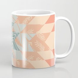 Vintage Botanical Quilt Coffee Mug