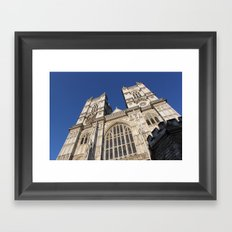 Westminster Abbey, London (2012) Framed Art Print