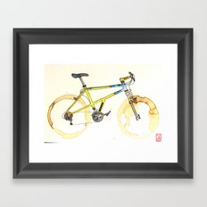 Coffee Wheels #15 Framed Art Print