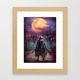 Eileen the Crow Framed Art Print