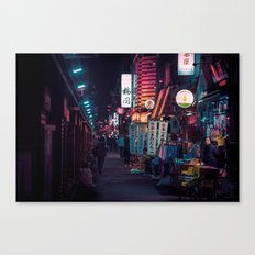 T0:KY:00 / Asakusa Nights Canvas Print