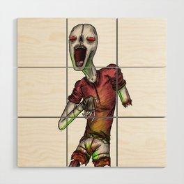 Harlequorg Wood Wall Art