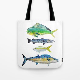 Caribbean Fish Tote Bag