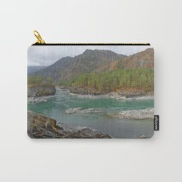 Katun river, Altai mountains, Siberia, Russia Carry-All Pouch