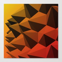 Spiky Brutalism - Swiss Army Pavilion Canvas Print