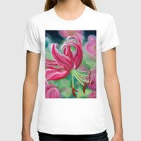 lily T-shirts featuring lily by Beth Jorgensen