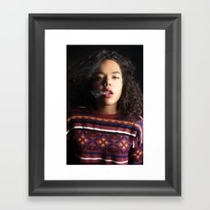 Breath. Framed Art Print