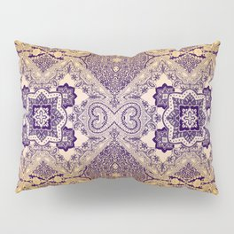 ornamental paisley with diamond on yellow ombre Pillow Sham