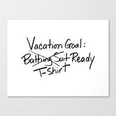 T-shirt Ready Canvas Print