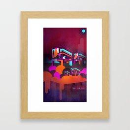 CUBE.HEARDS [03.09.14] Framed Art Print