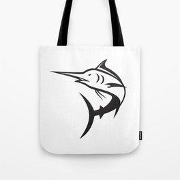 Blue Marlin Icon Tote Bag