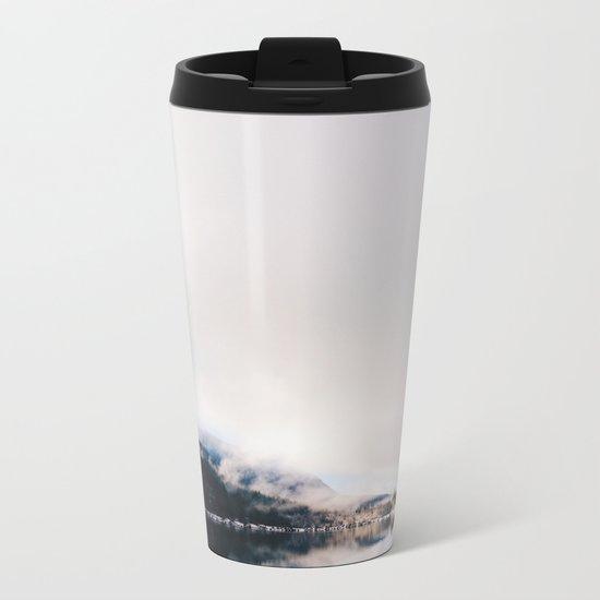 Mountain Lake (iPhone) Metal Travel Mug