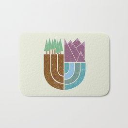 Mountain Crest Bath Mat