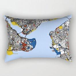 Istanbul mondrian Rectangular Pillow