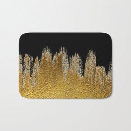 Black Gold Bath Mat