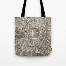 Berlin Map Tote Bag