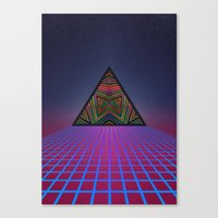 sci fi Canvas Prints featuring Sci-Fi by Mr. Power