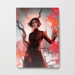 Lila Bard Metal Print