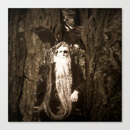 Oberon King of the Wood Faires Canvas Print