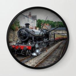 British Steam Loco Wall Clock