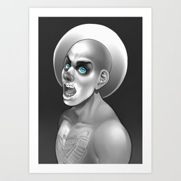 Wretched and Divine Art Print