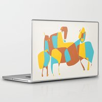 horses Laptop & iPad Skins featuring Horses by Pablo Correa