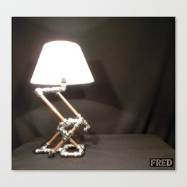 Articulated Desk Lamps - Copper and Chrome Collection - FredPereiraStudios_Page_03 Canvas Print