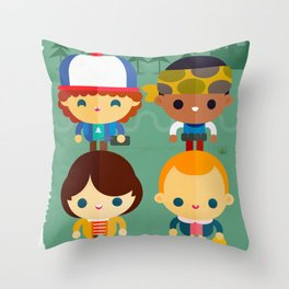 So stranger, with things Throw Pillow