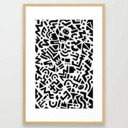 LaMont Pattern Framed Art Print