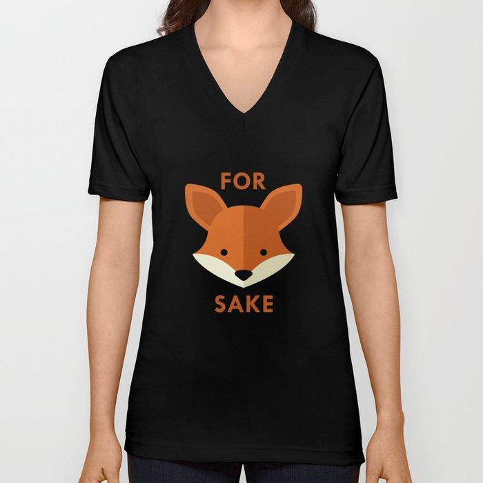 Oh! For Fox Sake Unisex V-Neck