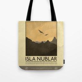 Silver Screen Tourism: Isla Nublar / Jurassic Park World Tote Bag